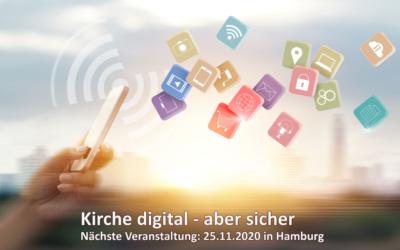 Kirche digital – aber sicher Veranstaltung